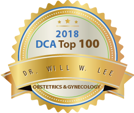 Dr. Will W. Lee - Award Winner Badge