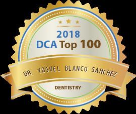 Dr. Yosvel Blanco Sanchez - Award Winner Badge