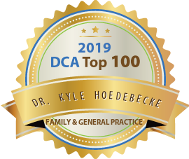 Dr. Kyle Hoedebecke - Award Winner Badge