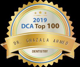 Dr. Ghazala Ahmed - Award Winner Badge