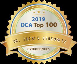 Dr. Jackie Berkowitz - Award Winner Badge