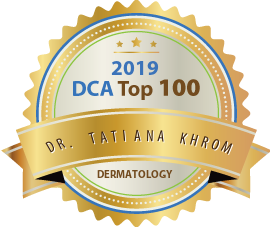 Dr. Tatiana Khrom - Award Winner Badge