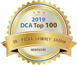 Dr. Palka Sawhney Sharma - Award Winner Badge
