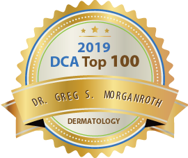 Dr. Greg S. Morganroth - Award Winner Badge