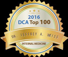 Dr. Jeffrey A. Weiss - Award Winner Badge