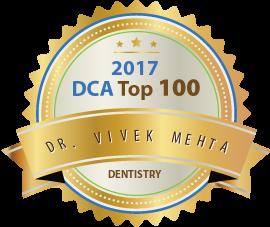 Dr. Vivek Mehta - Award Winner Badge