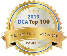 Dr. Wilsa Charles Malveaux - Award Winner Badge