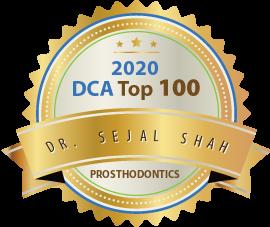 Dr. Sejal Shah - Award Winner Badge