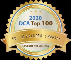 Dr. Alexander Shapsis - Award Winner Badge