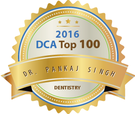 Dr. Pankaj Singh - Award Winner Badge