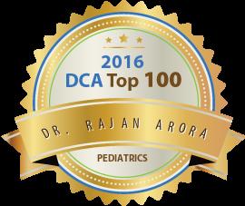 Dr. Rajan Arora - Award Winner Badge
