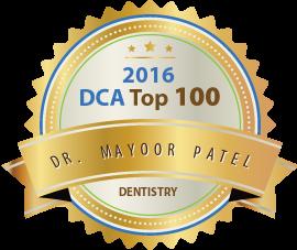 Dr. Mayoor Patel - Award Winner Badge