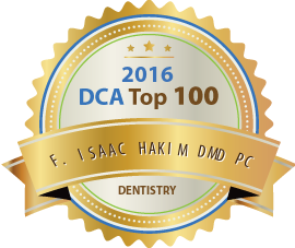 F. Isaac Hakim DMD PC - Award Winner Badge