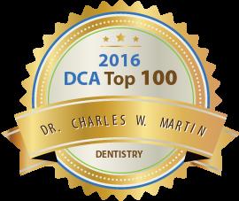 Dr. Charles W. Martin – Affordable Cosmetic Dental Implants at Richmond VA - Award Winner Badge