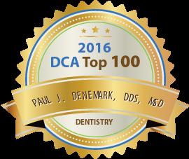 Dr. Paul J. Denemark - Award Winner Badge