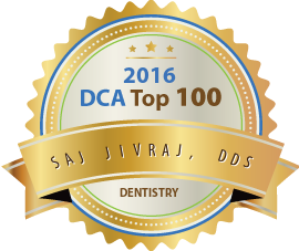 Dr. Saj Jivraj - Award Winner Badge