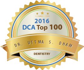 Dr. Uttma S. Dham - Award Winner Badge
