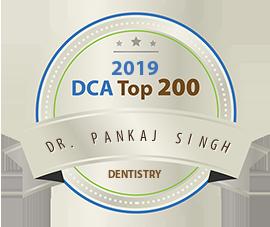 Dr. Pankaj Singh - Award Winner Badge