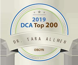 Dr. Tara Allmen - Award Winner Badge