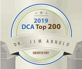 Dr. Jim Arnold - Award Winner Badge