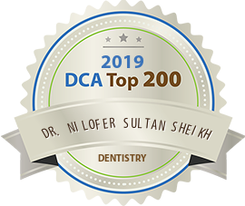 Dr. Nilofer Sultan Sheikh - Award Winner Badge