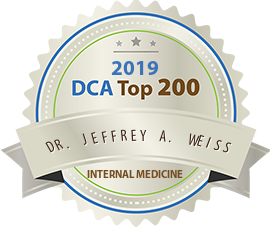 Dr. Jeffrey A. Weiss - Award Winner Badge