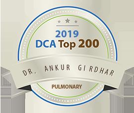 Dr. Ankur Girdhar - Award Winner Badge