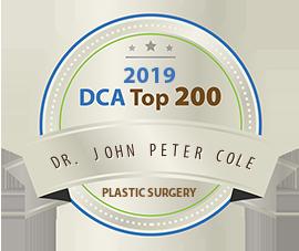Dr. John Peter Cole - Award Winner Badge