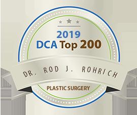 Dr. Rod J. Rohrich - Award Winner Badge