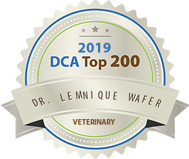 Dr. Lemnique Wafer - Award Winner Badge