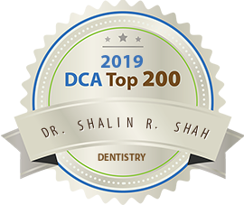 Shalin R. Shah, DMD, MS - Award Winner Badge