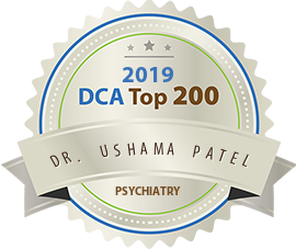 Dr. Ushama Patel - Award Winner Badge