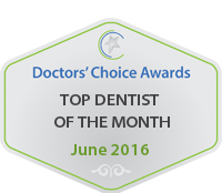 Top Doctor of the Month Badge
