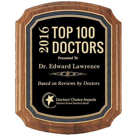 Top 100 Doctors Plaque